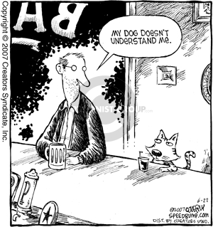 Comic Strip Dave Coverly  Speed Bump 2007-06-22 emotion