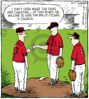 Comic Strip Dave Coverly  Speed Bump 2007-07-04 baseball