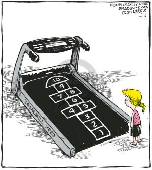 Comic Strip Dave Coverly  Speed Bump 2007-07-06 treadmill