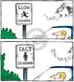 Comic Strip Dave Coverly  Speed Bump 2007-08-14 divorce