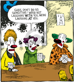Comic Strip Dave Coverly  Speed Bump 2007-09-04 emotion