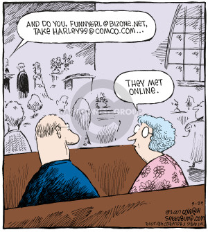 Comic Strip Dave Coverly  Speed Bump 2007-09-24 wife