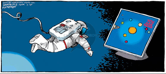 Comic Strip Dave Coverly  Speed Bump 2007-09-30 astronaut