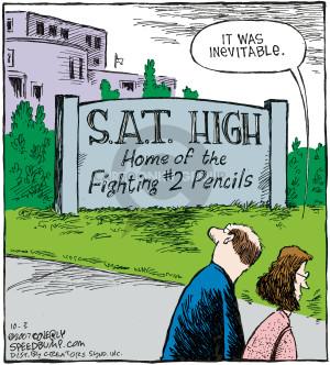 Comic Strip Dave Coverly  Speed Bump 2007-10-03 exam test