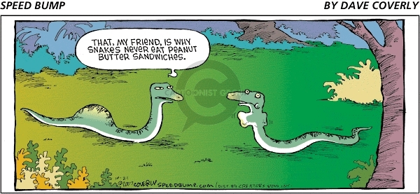 Comic Strip Dave Coverly  Speed Bump 2007-10-21 swallow