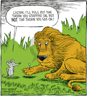 Comic Strip Dave Coverly  Speed Bump 2007-10-27 fable