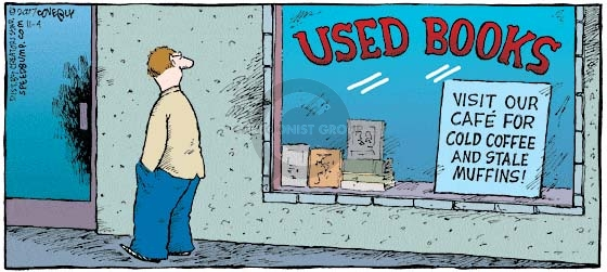 Comic Strip Dave Coverly  Speed Bump 2007-11-04 food store