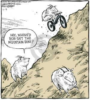 Comic Strip Dave Coverly  Speed Bump 2007-11-05 rider