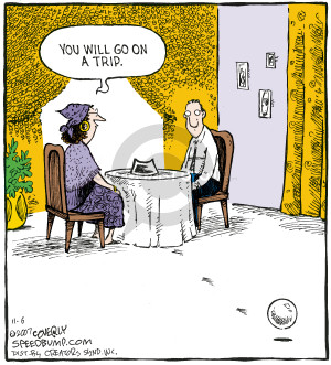 Comic Strip Dave Coverly  Speed Bump 2007-11-06 crystal ball