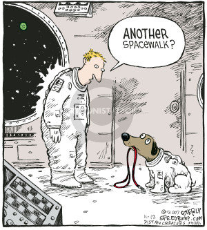 Comic Strip Dave Coverly  Speed Bump 2007-11-12 astronaut