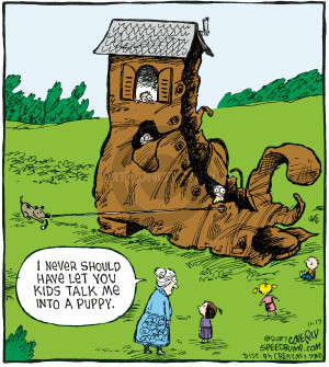 Comic Strip Dave Coverly  Speed Bump 2007-11-17 house