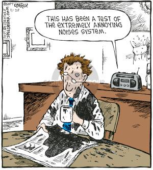 Comic Strip Dave Coverly  Speed Bump 2007-11-20 annoyance