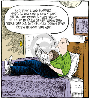 Comic Strip Dave Coverly  Speed Bump 2007-11-29 quirk