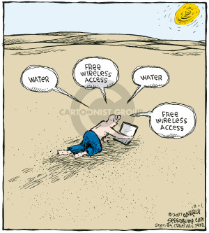 Cartoonist Dave Coverly  Speed Bump 2007-12-01 laptop