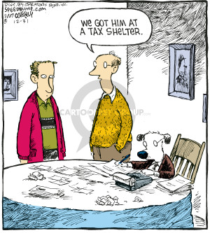 Comic Strip Dave Coverly  Speed Bump 2007-12-31 tax