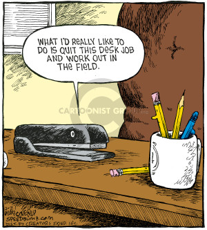 Comic Strip Dave Coverly  Speed Bump 2008-02-21 quit