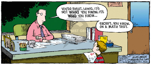 Comic Strip Dave Coverly  Speed Bump 2008-02-24 elementary school