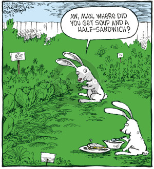Comic Strip Dave Coverly  Speed Bump 2008-02-25 hunger
