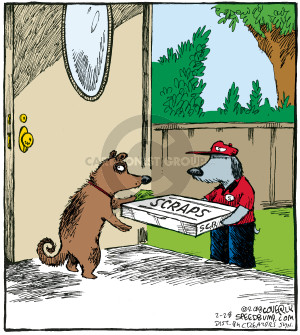 Comic Strip Dave Coverly  Speed Bump 2008-02-28 food delivery