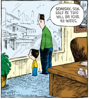 Comic Strip Dave Coverly  Speed Bump 2008-03-01 divorce