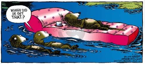 Comic Strip Dave Coverly  Speed Bump 2008-03-16 wildlife