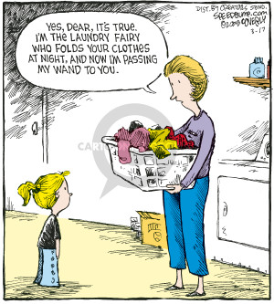 Cartoonist Dave Coverly  Speed Bump 2008-03-17 laundry