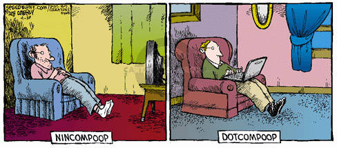Comic Strip Dave Coverly  Speed Bump 2008-04-20 online