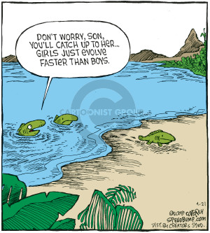 Comic Strip Dave Coverly  Speed Bump 2008-04-21 lake
