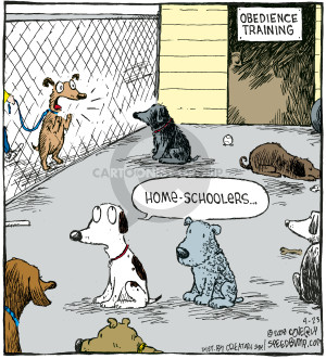 Comic Strip Dave Coverly  Speed Bump 2008-04-23 obedience