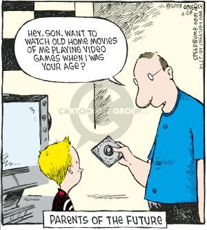 Comic Strip Dave Coverly  Speed Bump 2008-04-28 son