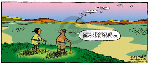 Comic Strip Dave Coverly  Speed Bump 2008-05-25 smoke