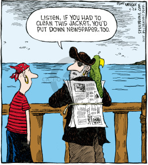Cartoonist Dave Coverly  Speed Bump 2008-05-26 laundry
