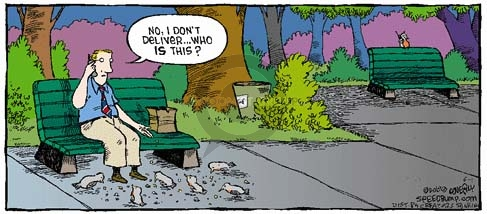 Comic Strip Dave Coverly  Speed Bump 2008-06-01 food delivery