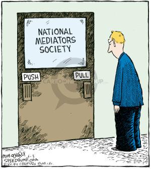 National Mediators Society.  Push.  Pull.