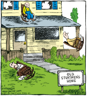 Comic Strip Dave Coverly  Speed Bump 2008-06-05 feat