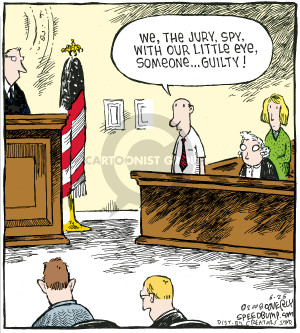 Comic Strip Dave Coverly  Speed Bump 2008-06-26 guilty verdict