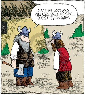 Comic Strip Dave Coverly  Speed Bump 2008-07-15 viking