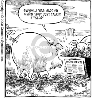 speed bump animal feed comics and cartoons the cartoonist group