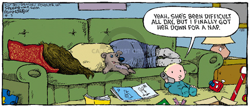 Comic Strip Dave Coverly  Speed Bump 2008-08-03 get
