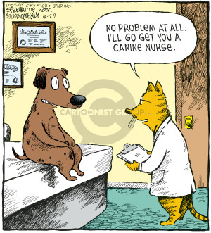 Comic Strip Dave Coverly  Speed Bump 2008-08-29 exam room
