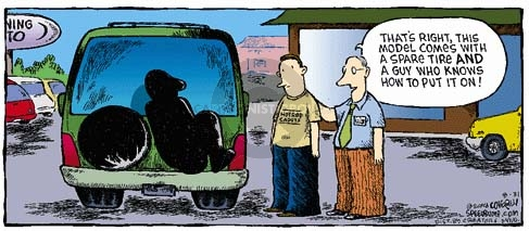 Comic Strip Dave Coverly  Speed Bump 2008-08-31 automotive accessory