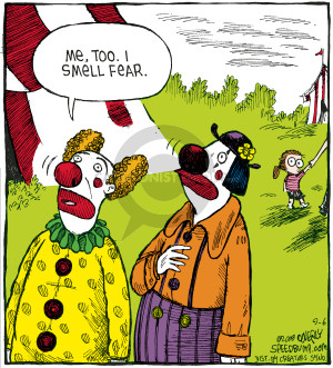 Comic Strip Dave Coverly  Speed Bump 2008-09-06 aware