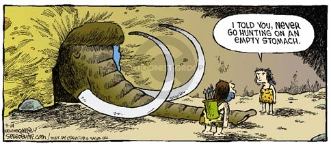 Comic Strip Dave Coverly  Speed Bump 2008-09-14 cave