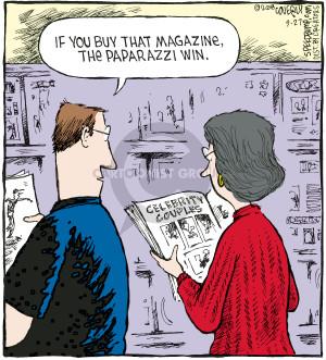 Cartoonist Dave Coverly  Speed Bump 2008-09-27 phrase