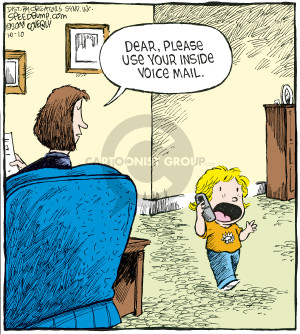 Comic Strip Dave Coverly  Speed Bump 2008-10-10 voicemail