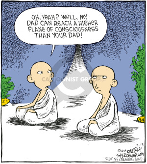Comic Strip Dave Coverly  Speed Bump 2008-10-15 philosophy