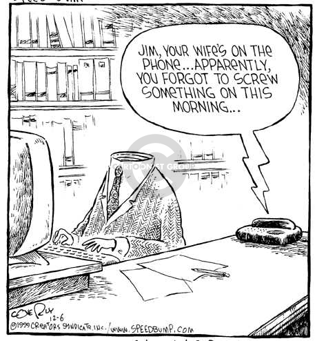 Comic Strip Dave Coverly  Speed Bump 1999-12-06 stupidity