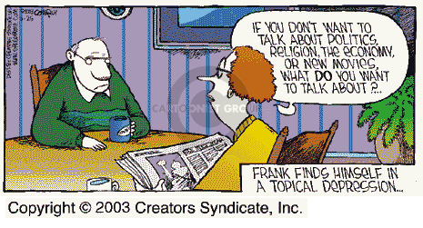 Comic Strip Dave Coverly  Speed Bump 2003-05-25 argument