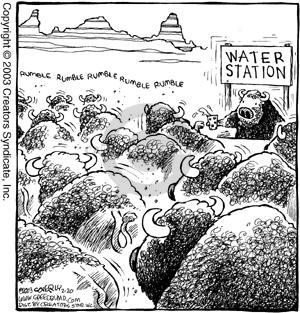 Comic Strip Dave Coverly  Speed Bump 2003-02-20 herd