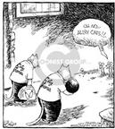 Cartoonist Dave Coverly  Speed Bump 2000-02-26 cat bowl